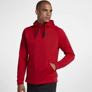 Nike red men's hoodie size L